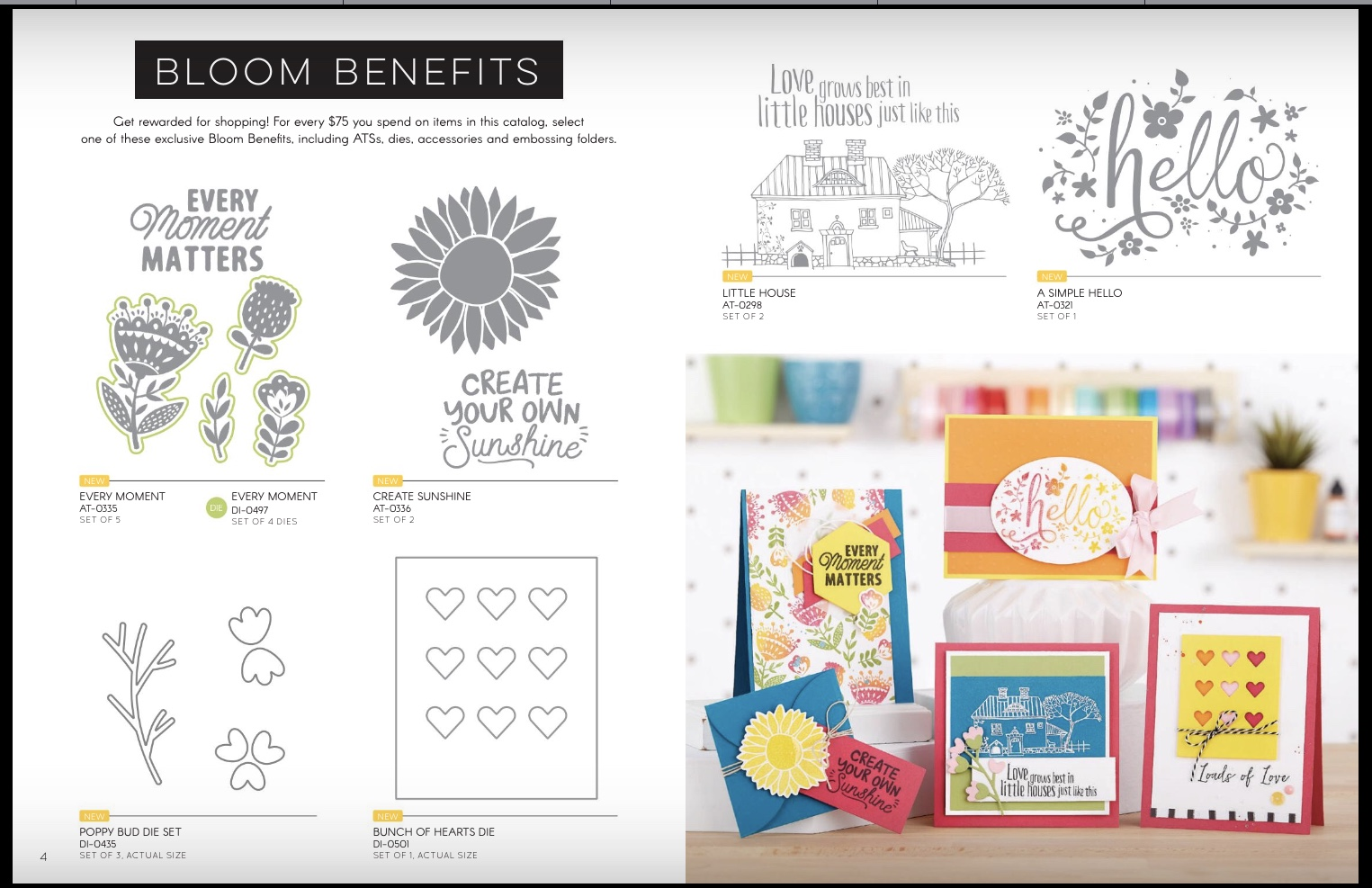 bloom benefits fun stampers journey