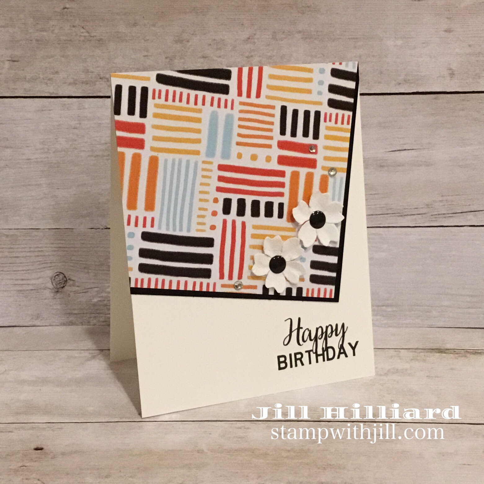 designer prints paper, fun stampers journey