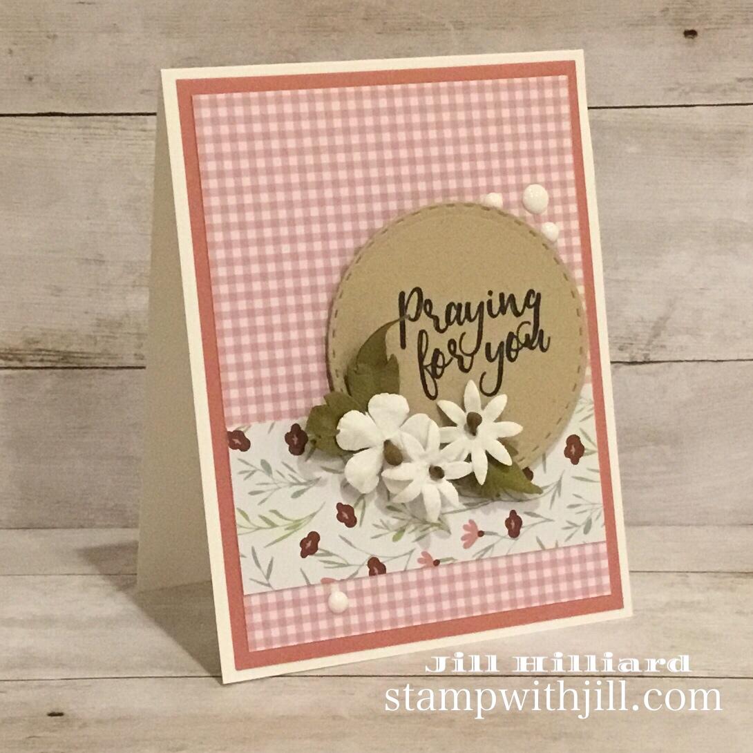 Good Life Prints paper- fun stampers journey