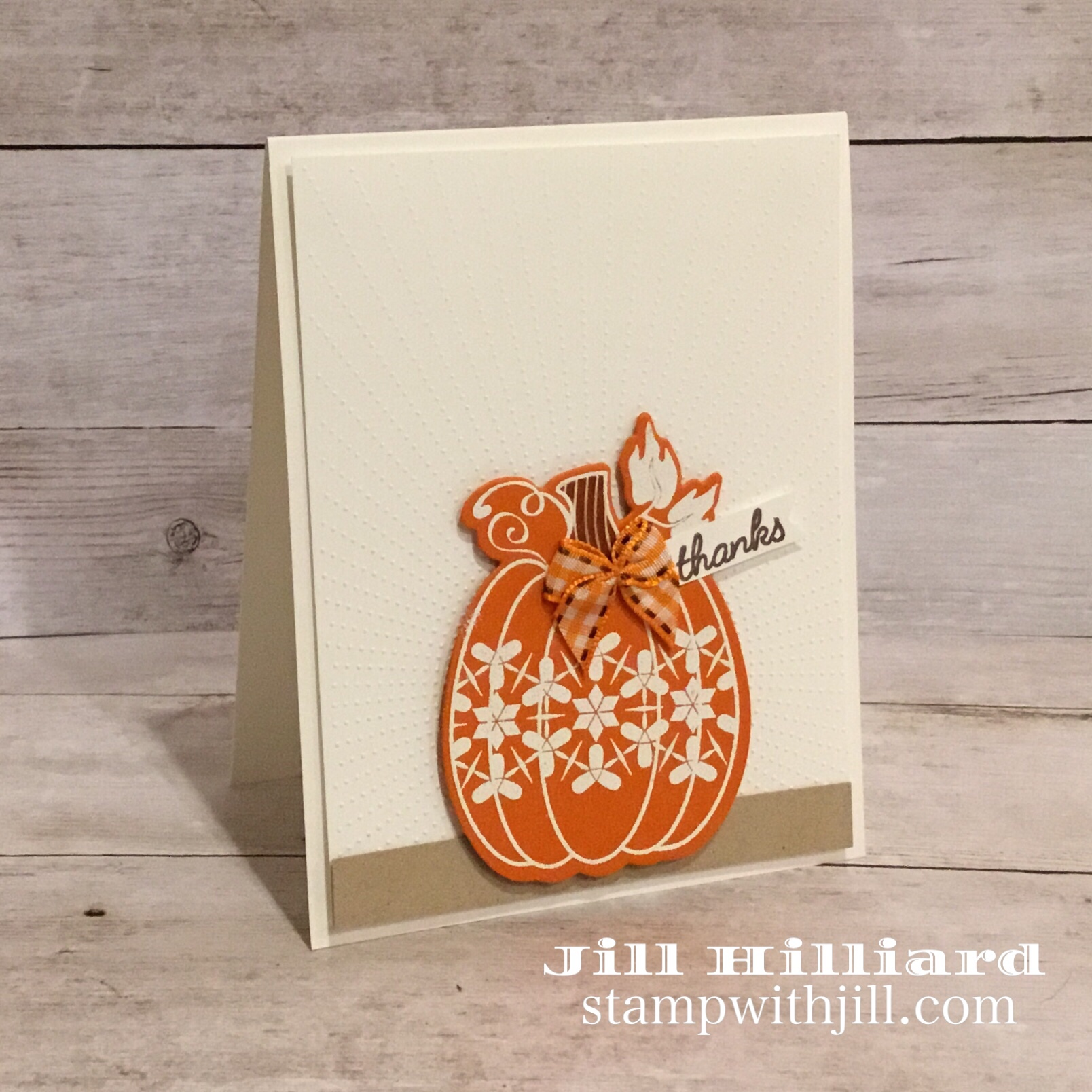 Stamp with Jill, Martha's Pumpkins, Fun Stampers Journey