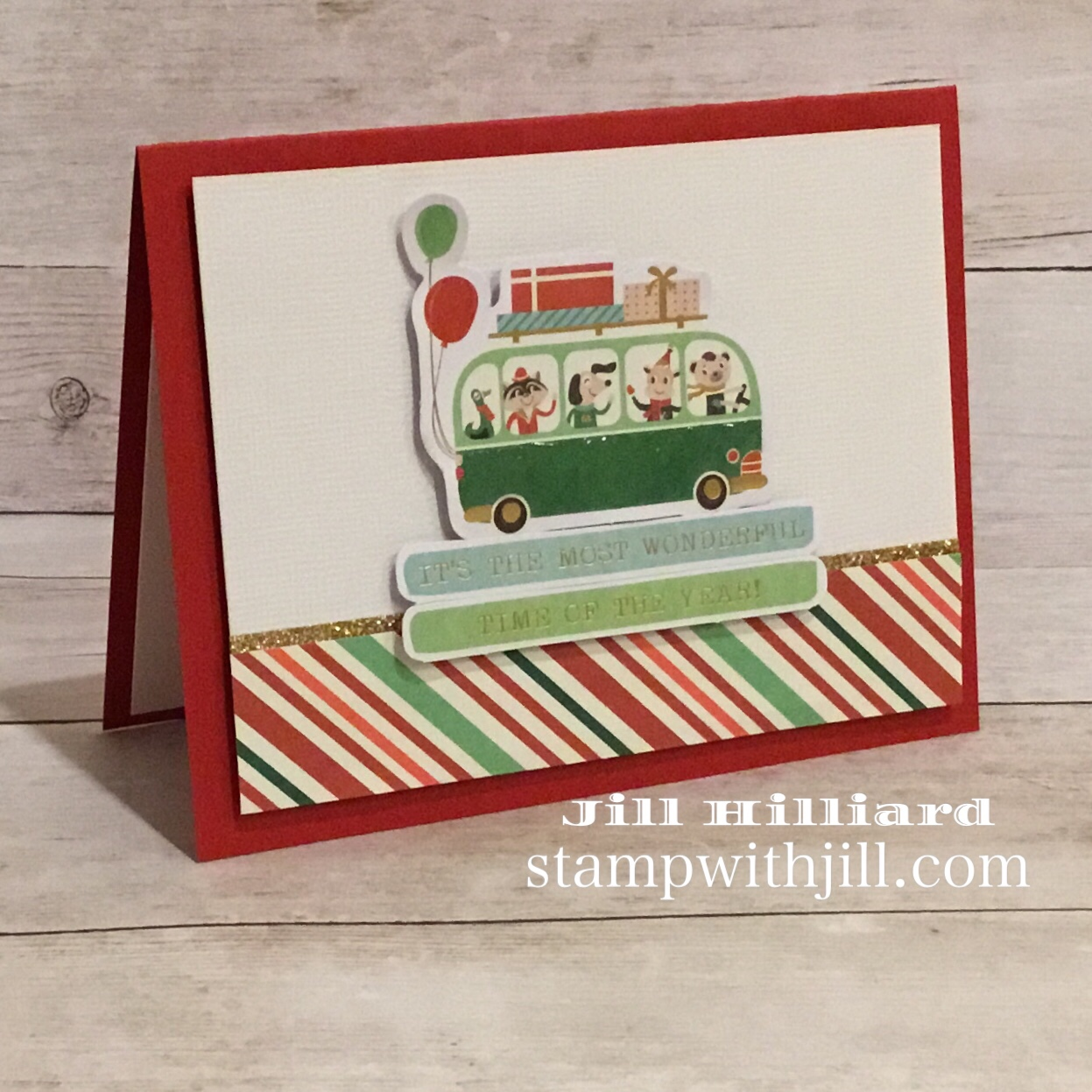 Spellbinder's Kit & Caboodle Club, Stamp with Jill, card kit club, Nov 2018