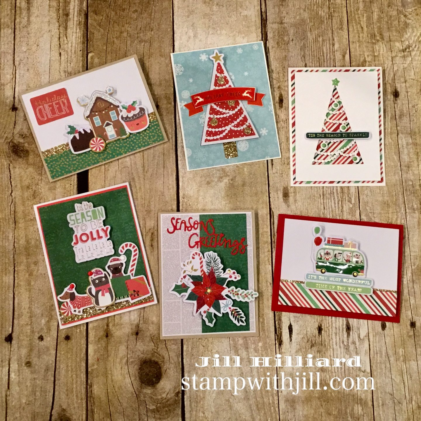Spellbinder's Kit & Caboodle Club, Stamp with Jill, Large die of the month, Nov 2018, card kit club