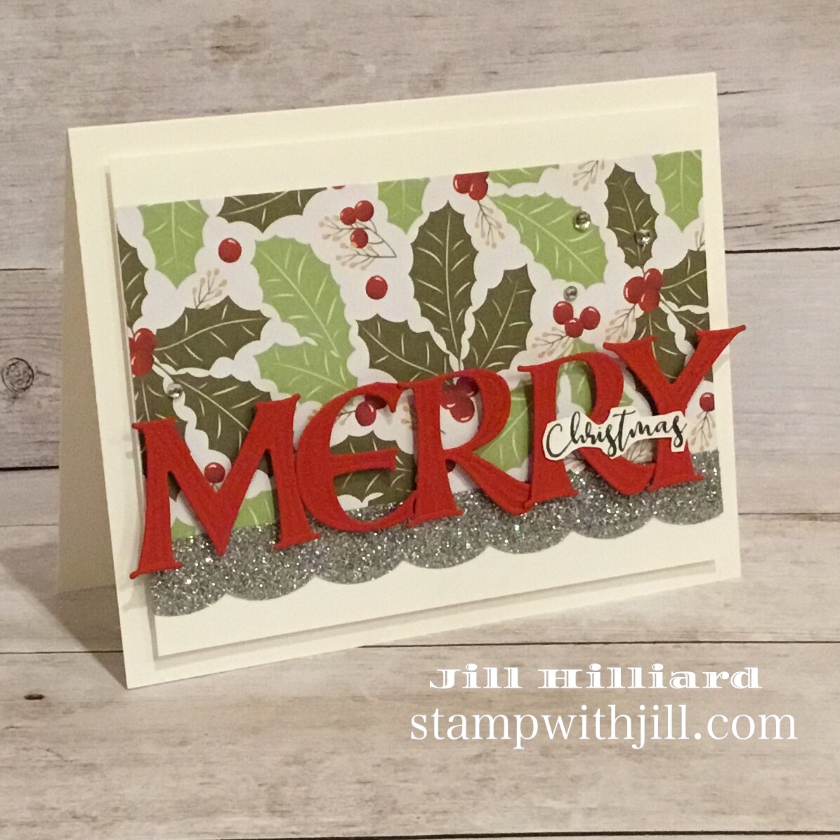 Christmas Cards made with Alphabet Dies, stamp with jill, spellbinders FSJ