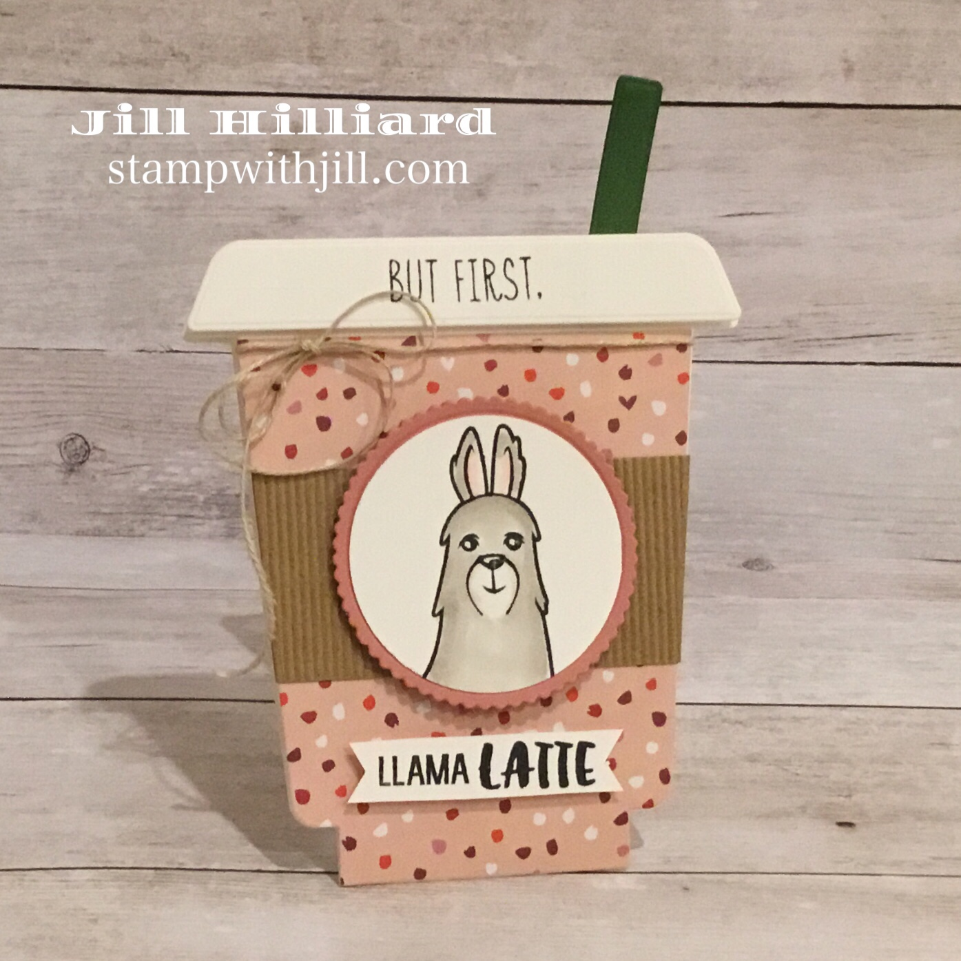 Stamp with Jill, Honeybee Stamps Frappe Shake Die coffee cards