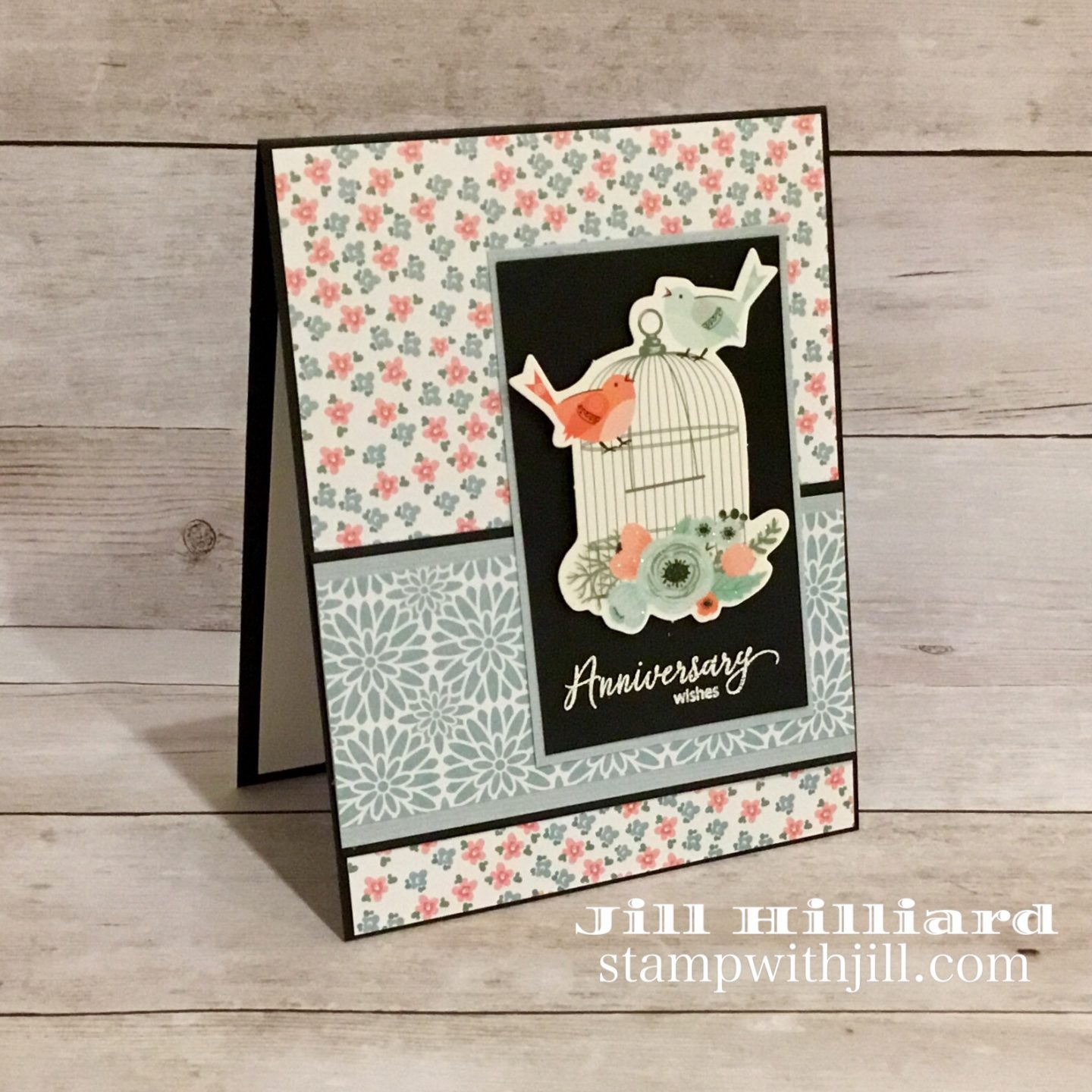 You're My Type card kit from Spellbinders, Stamp with Jill