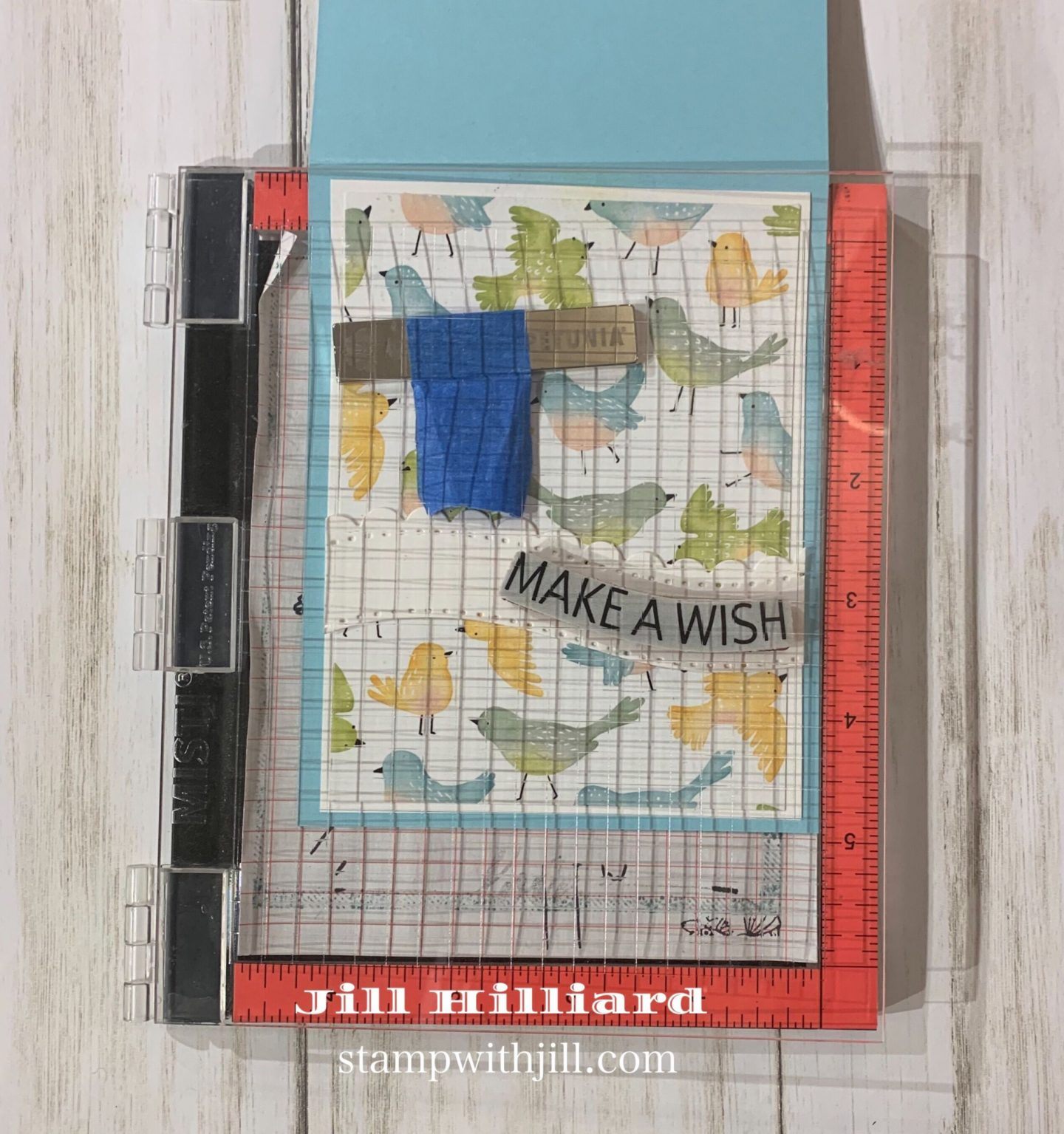 Stamp with Jill, Shapeabilities Curved Border Die
