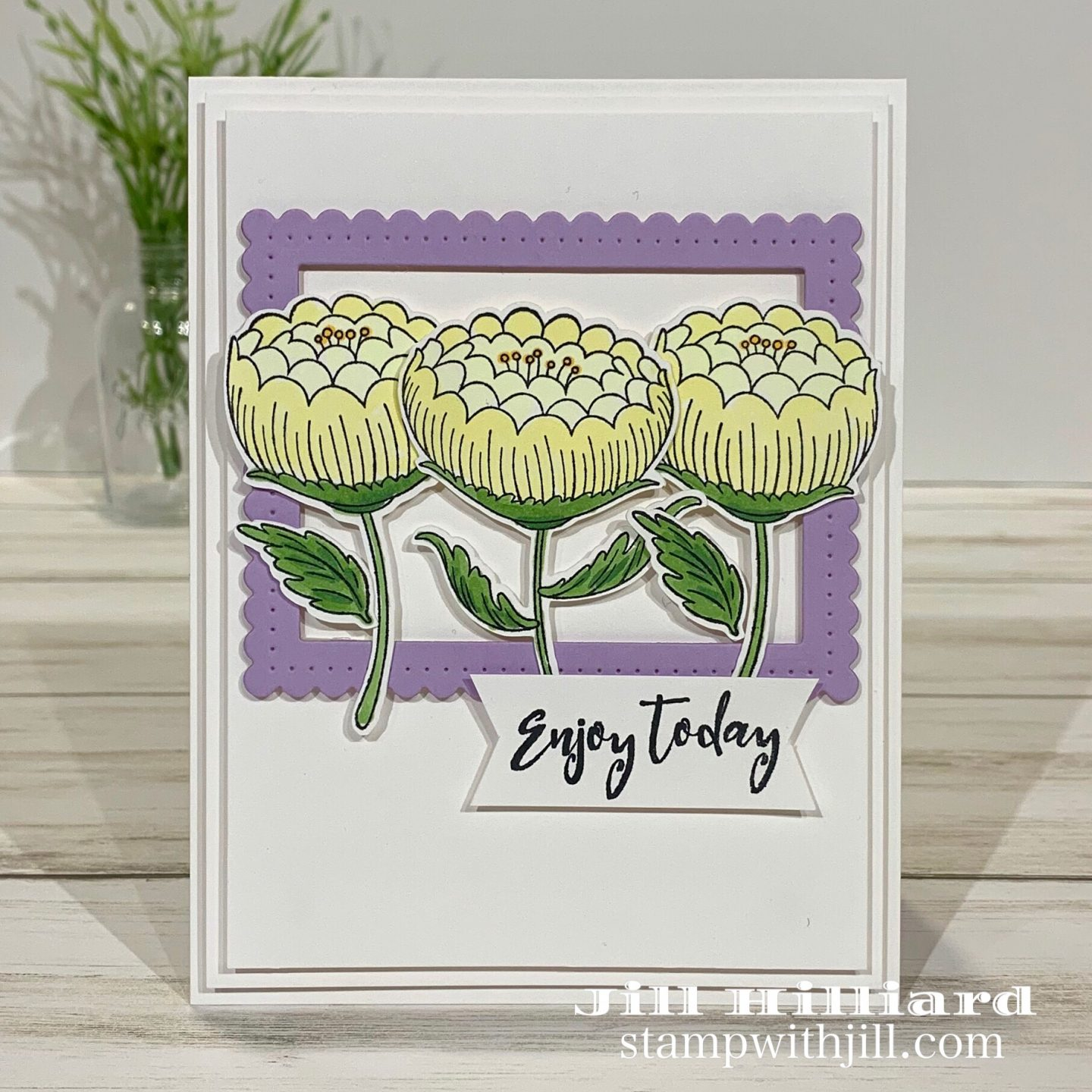 Stamp with Jill, Spellbinders + FSJ  stamp of the month