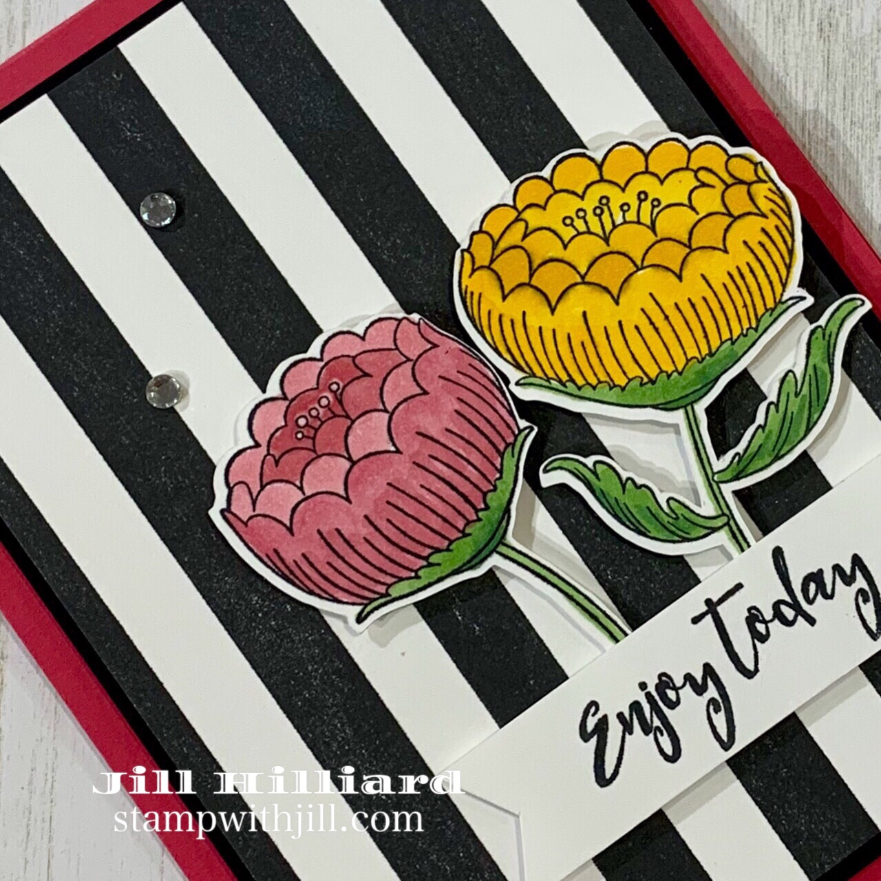 Stamp with Jill, Spellbinders+FSJ  stamp of the month