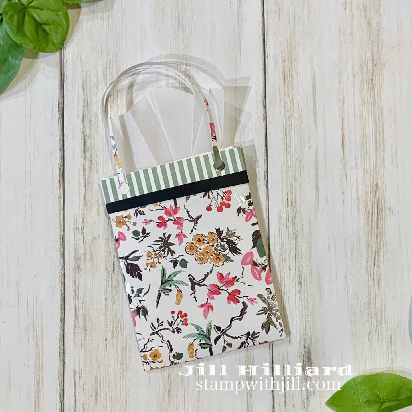 Stamp with Jill, Spellbinders April 2019 Large Die of the month- For You gift card holder