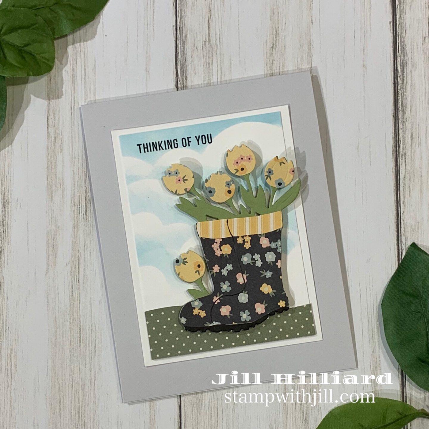 Stamp with Jill, Hello Darling, Simon Says Stamp April card kit
