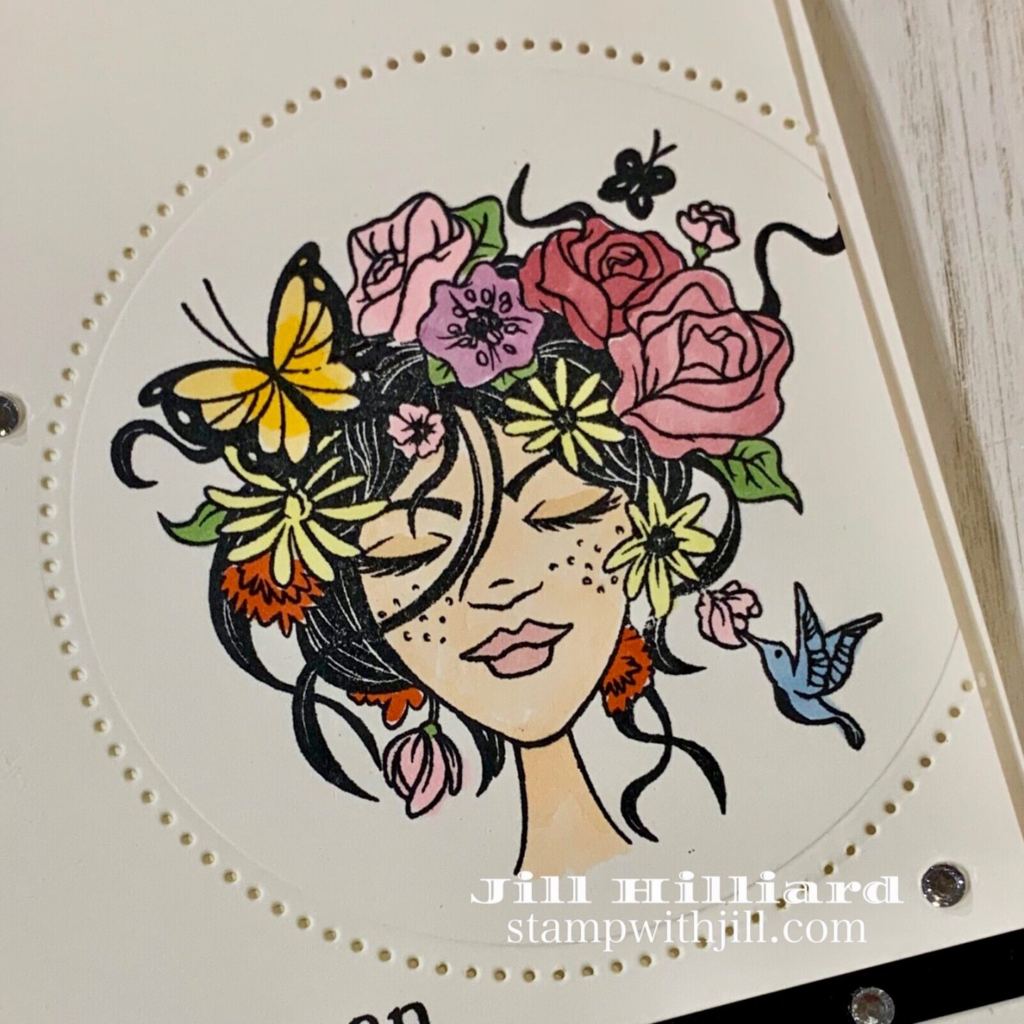 Stamp with Jill, Spellbinders+FSJ May 2019 Stamp of the Month, Natural Dreamer