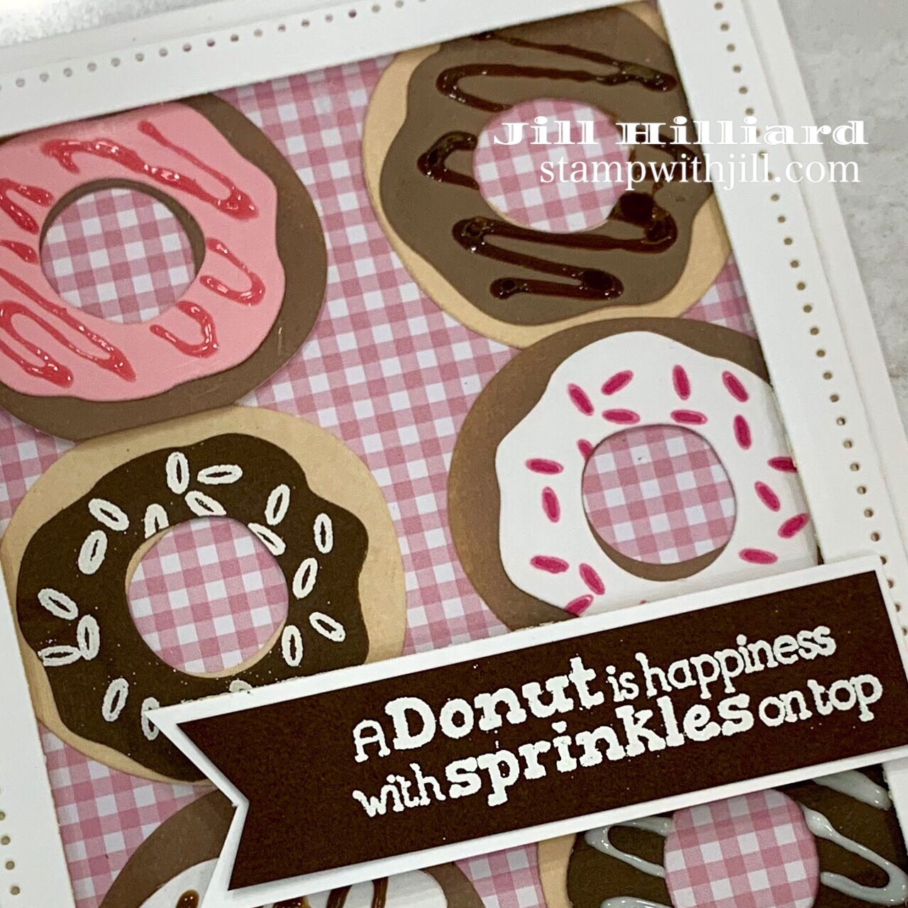 Stamp with Jill, FSJ Stamp of the Month- Sprinkled with Love