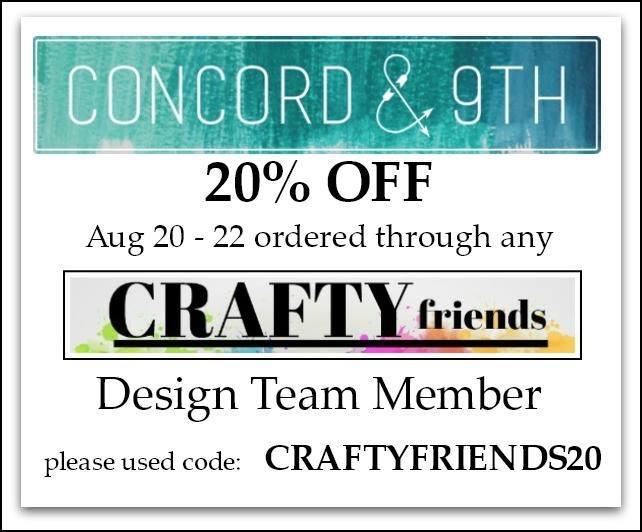 Crafty Friends Blog hop